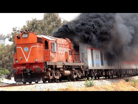 Hardcore SMOKING ALCo's : Indian Railways EXCLUSIVE