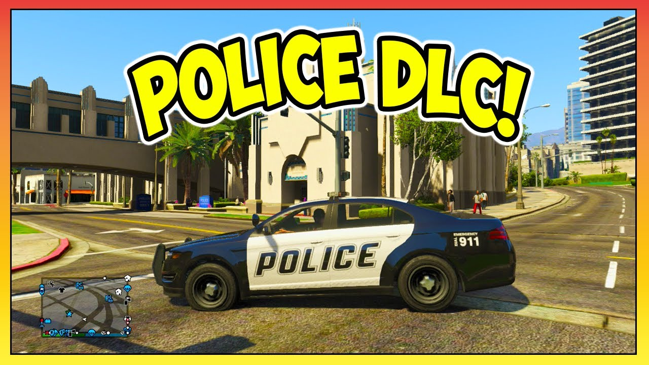 Gta 5 Online Police Dlc Idea Store Police Cars Law