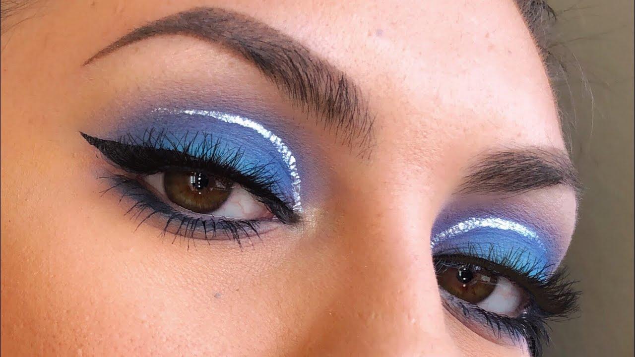 blue eyeshadow makeup tutorial | savannahxo28