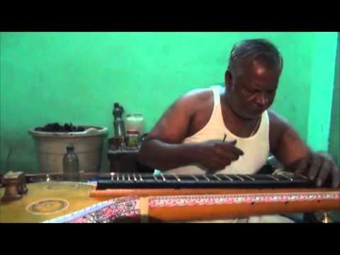 Saraswati Veena Making - Wax Application