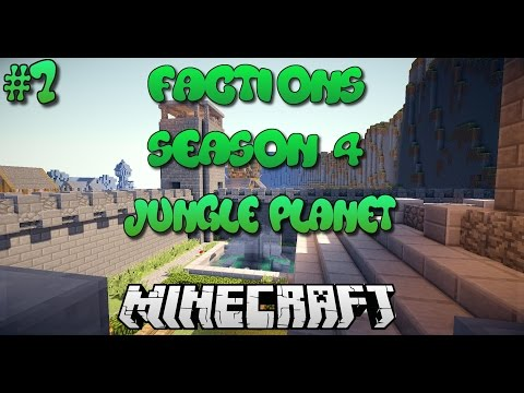 """""""Spawn Pvp!"""" Minecraft Factions Cosmic Pvp Jungle Planet #7 w/DrCandyMan"""