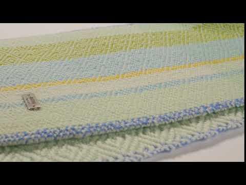 TURQUOISE - Handwoven Scarf | ISKON mode
