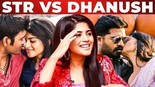"""SIMBU & DHANUSH are.."" - Megha Akash Opens Up   Enai Noki Paayum Thota   Boomerang   VRV   RS 124"