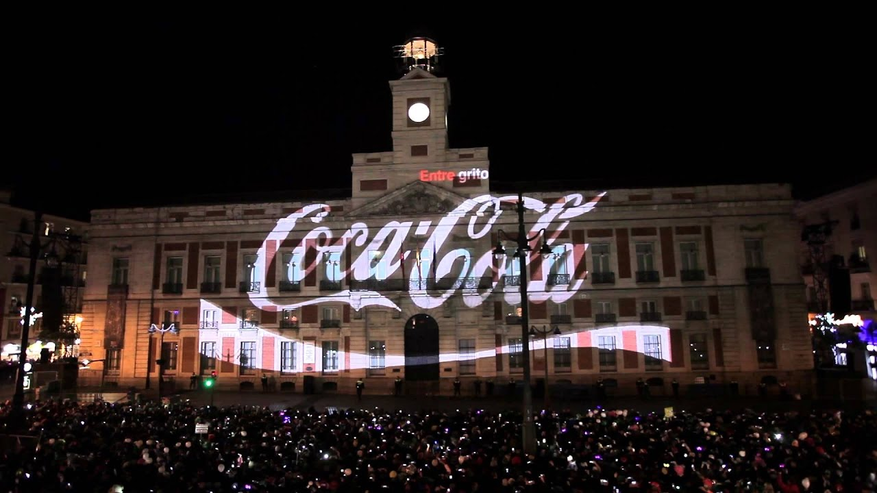 La puerta del sol madrid fin de a o 2014 2015 video for Puerta del sol web