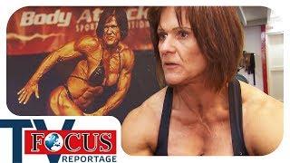Projekt Muskelmasse: Bodybuilderin und Hausfrau aus Leidenschaft | Focus TV Reportage