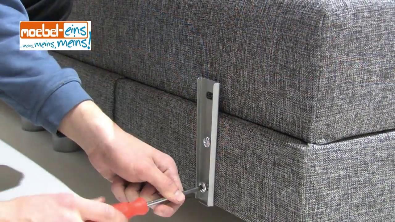Montage  Aufbau Boxspringbett von MBEL EINS  YouTube