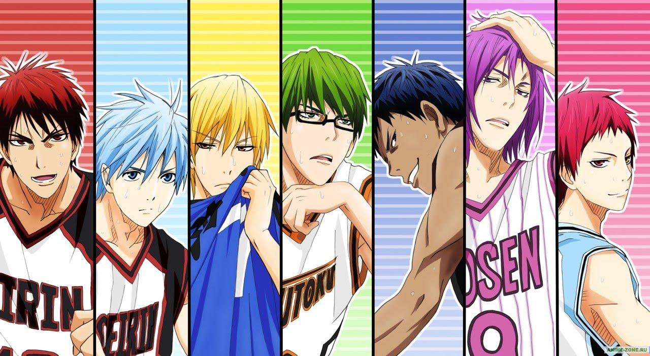 картинки аниме баскетбол
