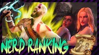 Top 10: Die krassesten Kratos Momente! | NerdRanking | #Werbung