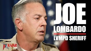 Sheriff Joseph Lombardo LVMPD // John Bartolo Show