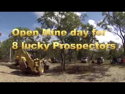 Small Scale Gold Mining, Palmer River Prospectors Weekend.