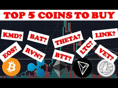 TOP 5 ALTCOINS TO BUY IN OCTOBER! - Best Cryptocurrencies To Invest In 2019