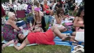 Ladies ascot drunk Absolutely Fabulous