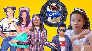 ¿Puedes meter helado en la gofrera? CLODETT, KARINA & MARINA y TREMENDING GIRLS