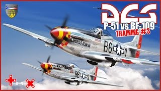 DCS : P-51D VS BF109 | DOGFIGHT [Gameplay FR]