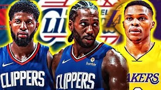 Why The Kawhi Leonard Signing and Paul George Trade to the Clippers Could Mean Westbrook to Lakers?