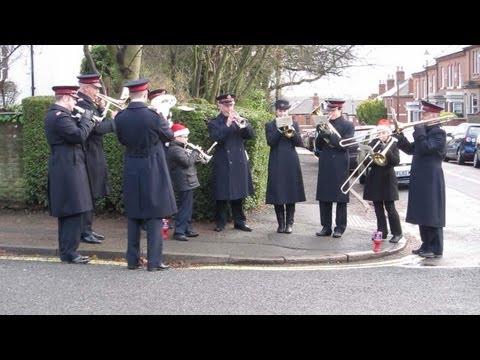 Salvation Army Band - Christmas Day 2012 (HD).