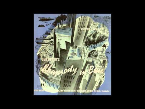 Gershwin Rhapsody in Blue (Sanroma-Fiedler, 1935)