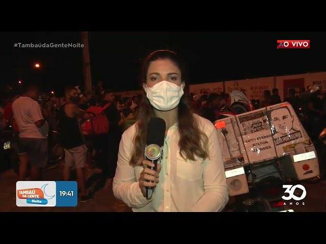 Mais informações sobre movimentação de protesto -  Tambaú da Gente Noite