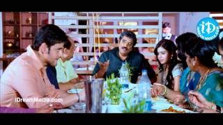 Seethamma Vakitlo Sirimalle Chettu - Mahesh Babu, Rao Ramesh Nice Hotel Scene