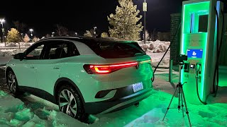 DC Fast Charging Volkswagen ID.4 From 0-100%