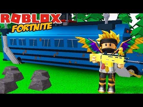 FORTNITE W ROBLOX!  - ROBLOX  #554