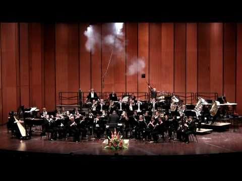 Kevin Sedatole conducts John Corigliano's Circus Maximus (Michigans State University Wind Symphony)