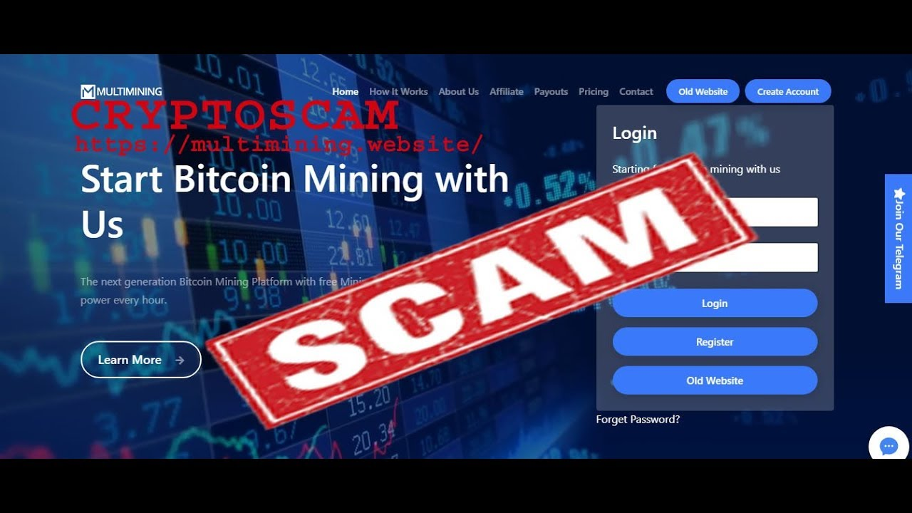 CRYPTOCURRENCY MINING SCAM PART – 10 (https://multimining