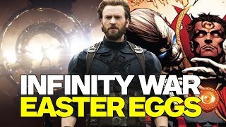 SPOILERS! Avengers: Infinity War Easter Eggs, Trivia, and References