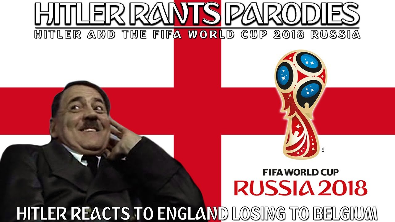 Hitler reacts to England losing to Belgium in the third-place play off