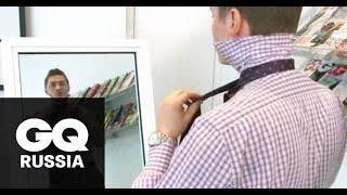 Как завязывать галстук: видеоинструкция GQ