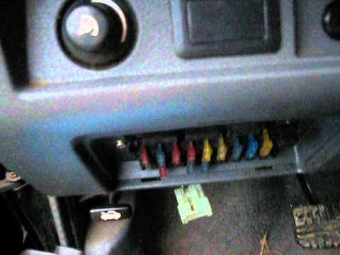 hqdefault fuse box locations on a '87 '96 mitsubishi mighty max youtube 1991 mitsubishi pajero fuse box diagram at virtualis.co