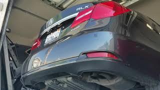 Acura RLX OEM Exhaust