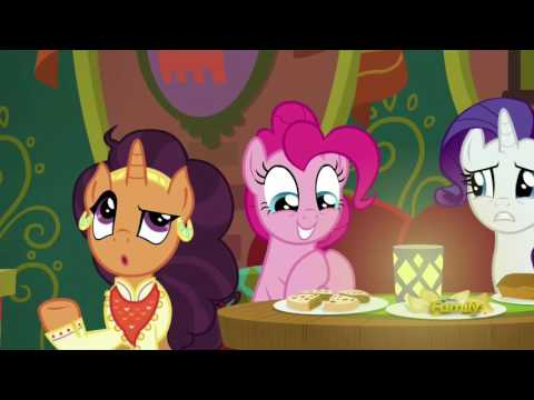 Pinkie and Rarity visit the Tasty Treat - Spice Up Your Life
