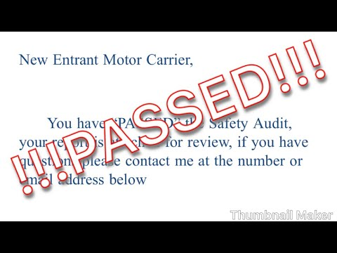 DOT Safety Audit - What You Need To Pass!