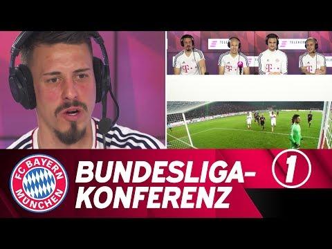 Telekom-Bundesliga-Konferenz #1: FC Bayern-Stars als Kommentatoren🎙️