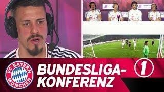 Bundesliga-Konferenz #1: FC Bayern-Stars als Kommentatoren!