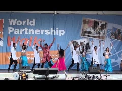 Shiamak Toronto at World Partnership Walk 2015