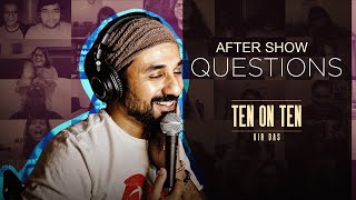 After Show Questions   Wokeness, PMs and Humanity   Vir Das #TenOnTen