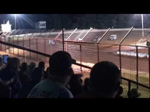 7-23-16 BAM Modifieds Heat Flomaton Speedway