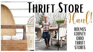 Thrift Store Haul ~ Thrift with me ~ Holmes County Thrift Stores ~ Ohio Thrift Stores