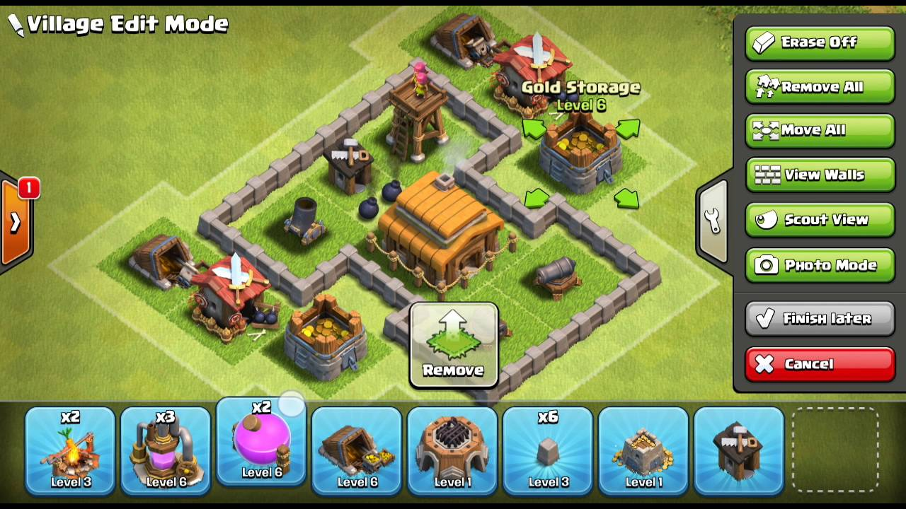 Clash Of Clans Base Build Th3 Max Youtube