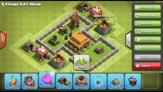 Clash of clans base build th3 max