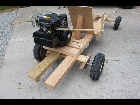 Como Hacer Go Kart Con Motor De Podadora