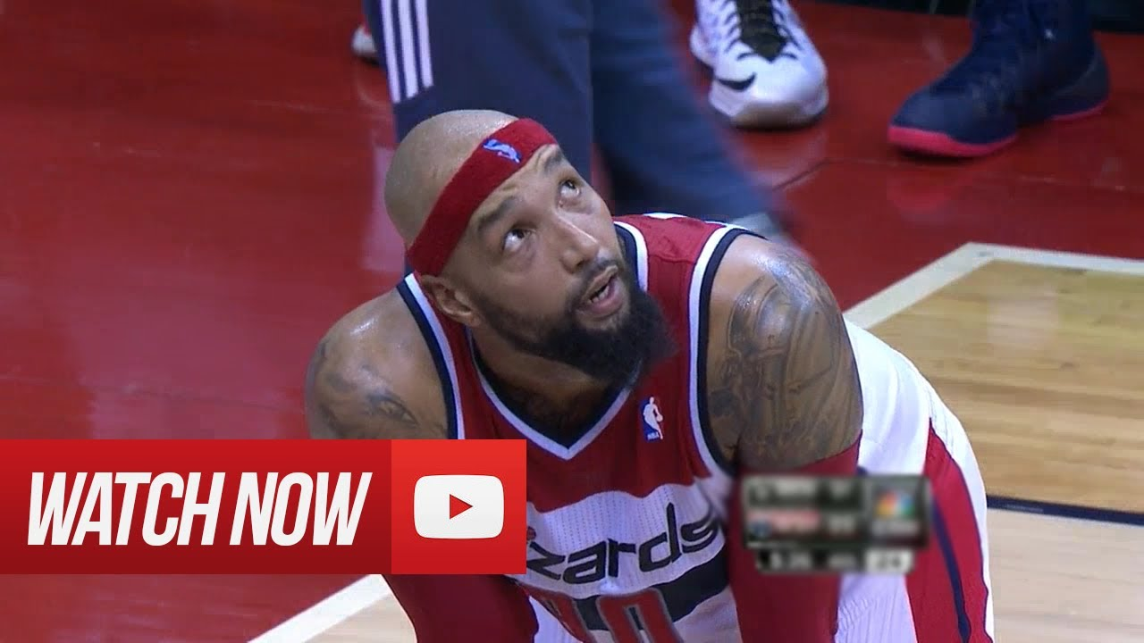 2014 03 15 Drew Gooden Full Highlights vs Brooklyn Nets 21 Pts