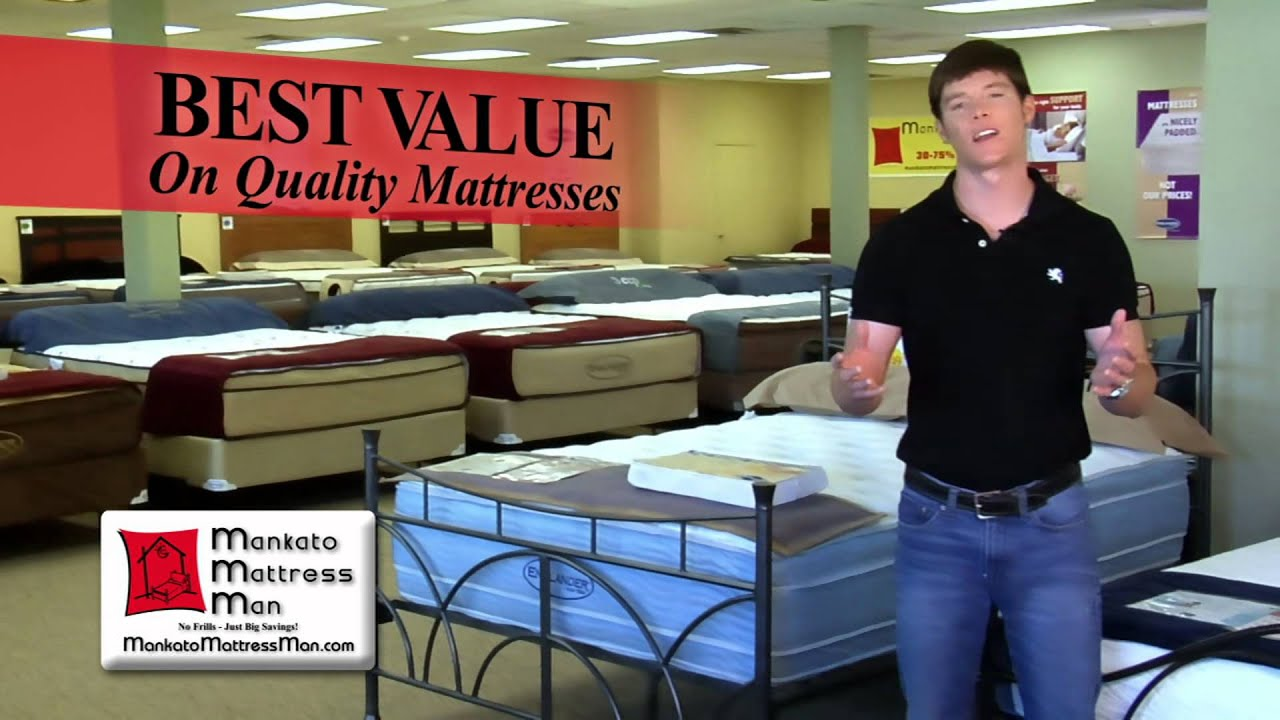MANKATO MATTRESS MAN FALL 2014 COMMERCIAL   YouTube MANKATO MATTRESS MAN FALL 2014 COMMERCIAL