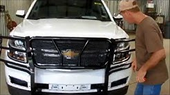 Frontier Grille Guard 2015-17 Chevy Tahoe/Suburban Installation