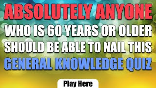 Fresh General Knowledge Quiz