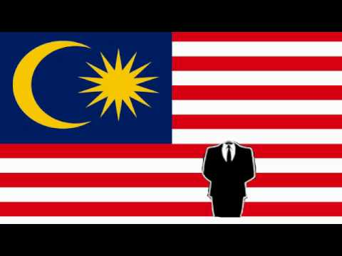 Anonymous IndonesiA Message Government Malaysia