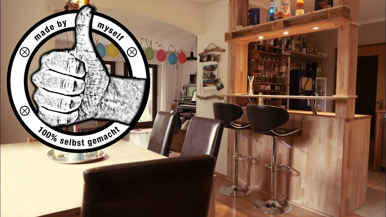 offene wohnk che k che selber bauen bar bauen kitchen makeover 4 youtube. Black Bedroom Furniture Sets. Home Design Ideas