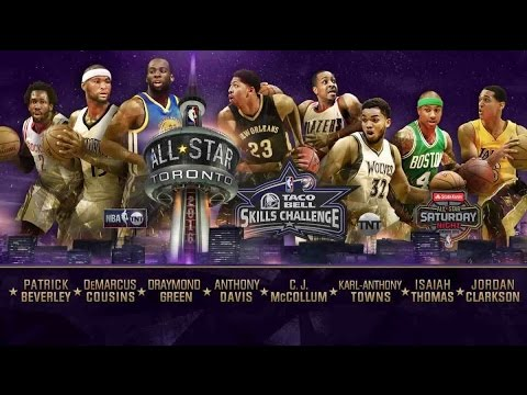 Taco Bell Skills Challenge Full Highlights (2016/02/13) - NBA All Star 2015-16